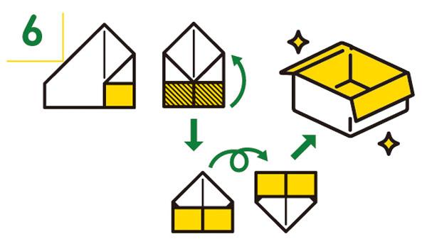 紙皿の折り方6