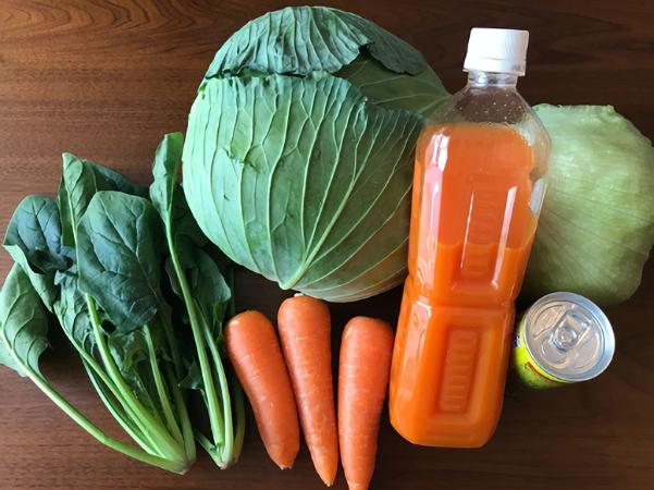 野菜ジュースの栄養って?