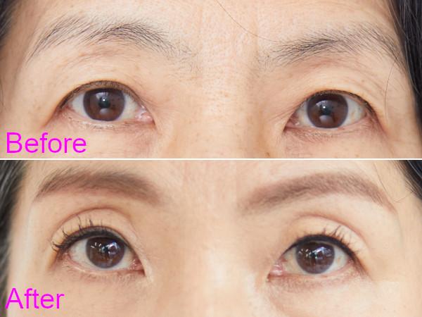 イメチェンのポイント(メイク):アイライン&濃い眉で目の印象アップ!