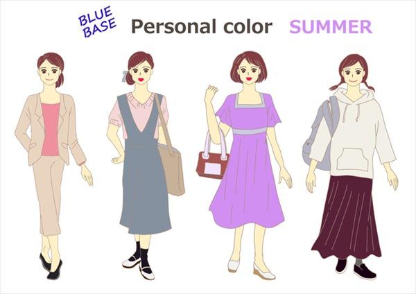 サマーカラーの人が秋に着る服はこんな色