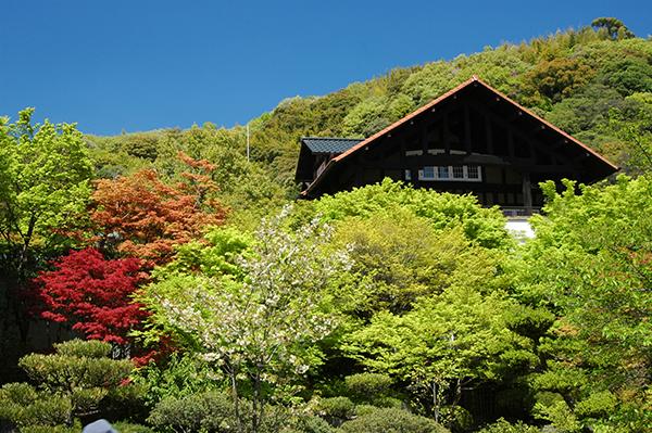 初秋のアサヒビール大山崎山荘