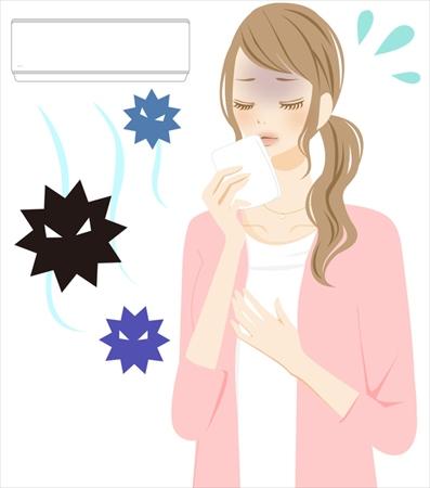 エアコン掃除はなぜ必要?健康面・経済面に悪影響も