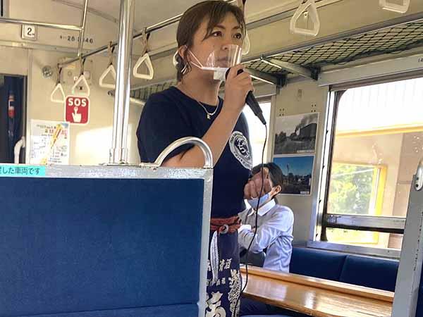 もんしちオーナー兼唎酒師の林紀子さん