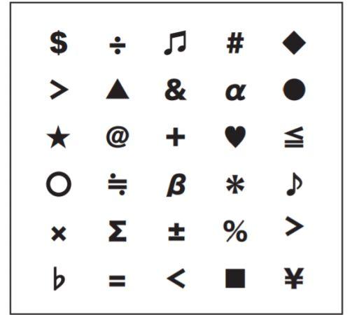 大人の脳トレドリル:同じ文字探し問題4
