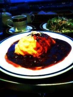 M&C Cafe(エムシーカフェ)のオムハヤシ