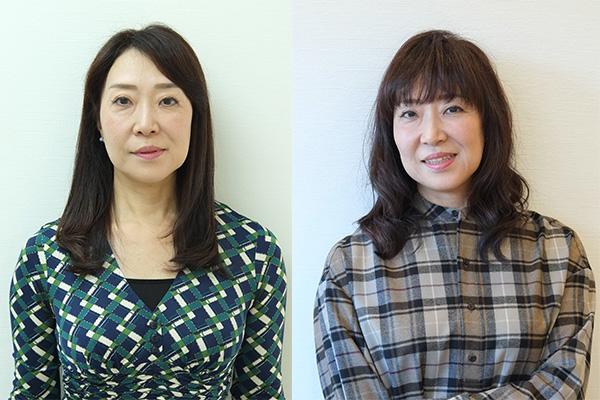 50代髪型ヘアカタログ:ロング(ビフォーアフター)