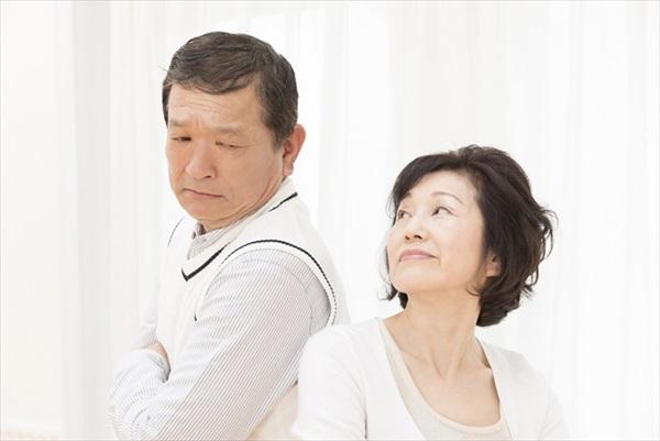 熟年離婚が増加傾向