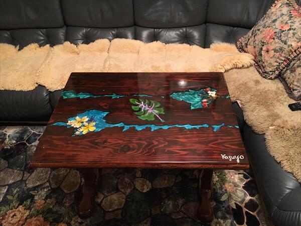 私専用のテーブル