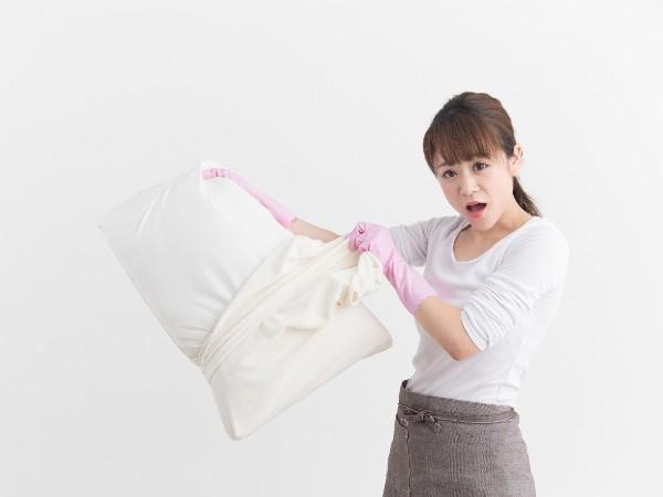 枕の正しい洗い方とは?