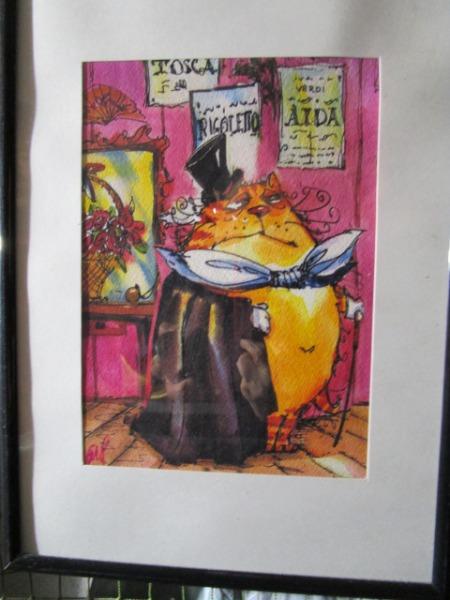 エストニア・タリンの道端で売られていたイラスト