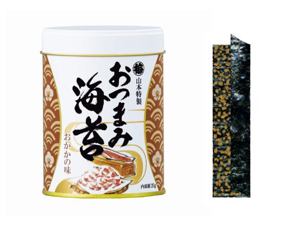 山本特製「おつまみ海苔」おかかの味 648円(税込)