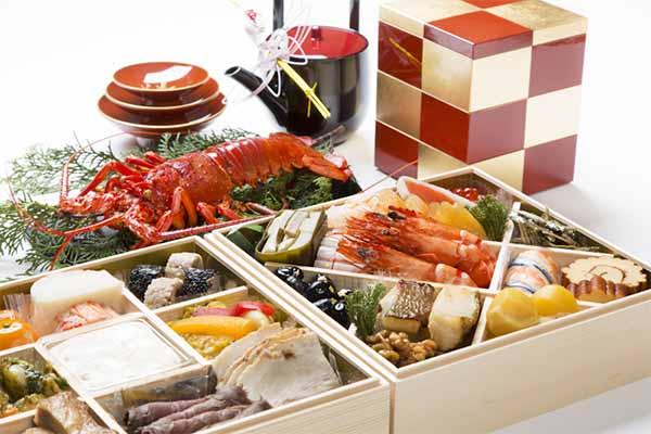 おせち料理は大きく分けて5種類に分類される