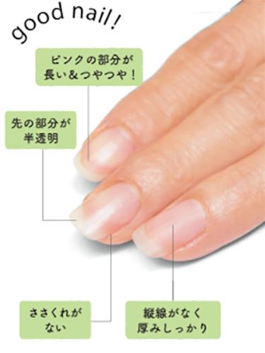「つやつや爪」の4つの条件