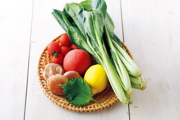 野菜をおいしく冷凍