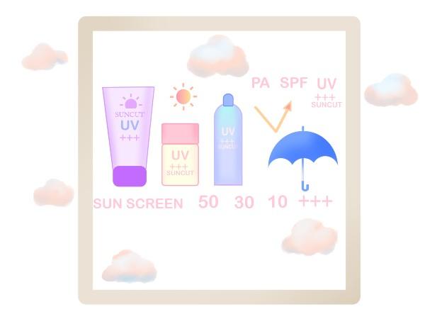 曇りの日でも紫外線対策を