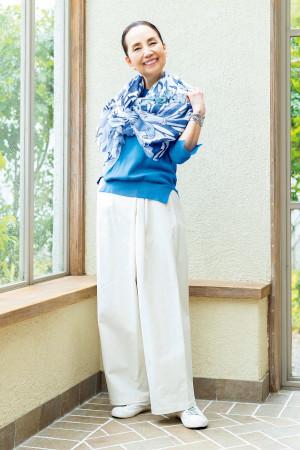 吉岡美恵子さん(65歳)のコーディネート