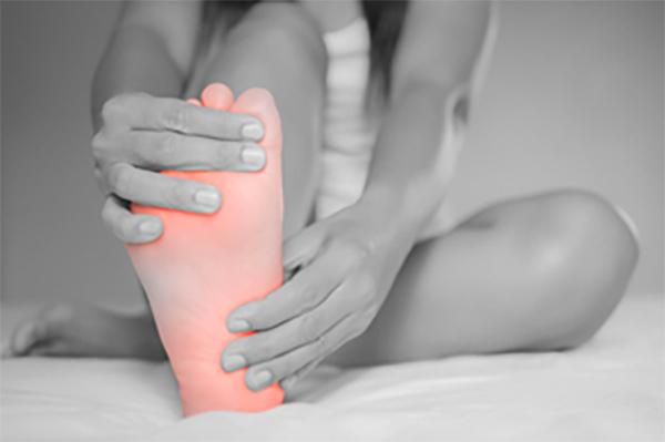足の裏が痛い原因:糖尿病