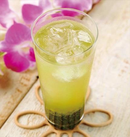 お茶のお酒レシピ:緑茶ジュレップ