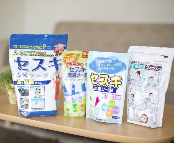 セスキは100円ショップでも入手できるのもうれしいところ。