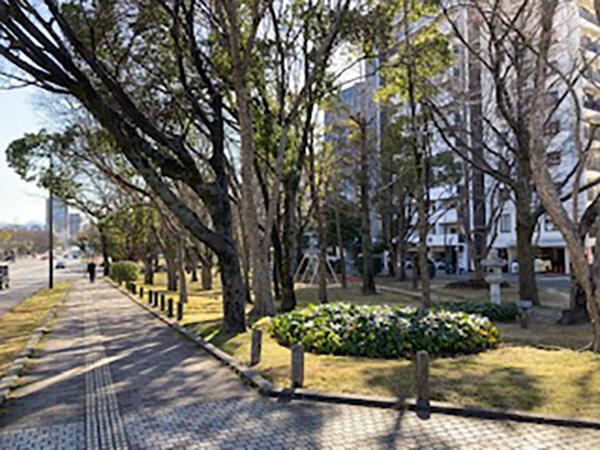 公園道路、市民のイベント道路