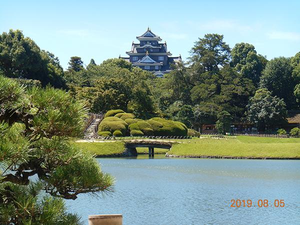 2019年8月5日 岡山城と後楽園
