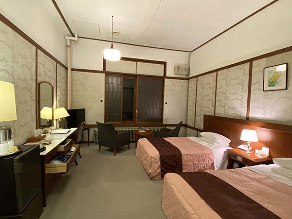 私が宿泊した別館のツインルーム