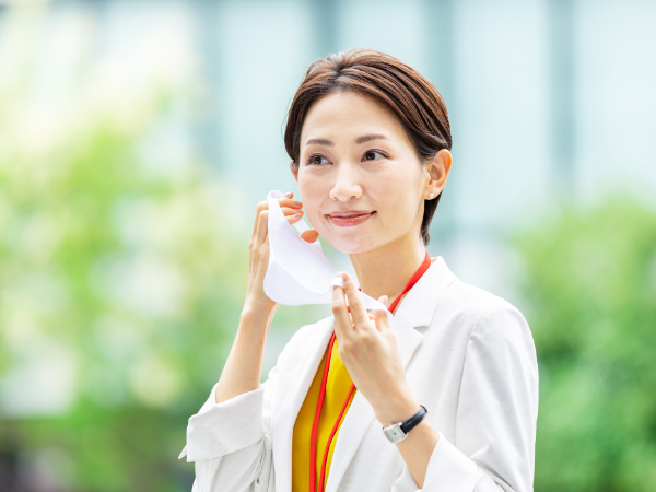 マスクをしたときの化粧崩れを防ぐ方法って?