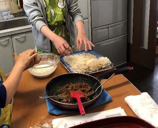 カレーパン作り