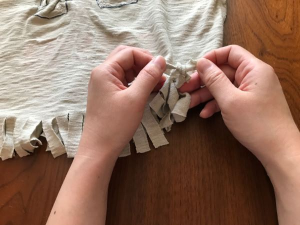 Tシャツエコバッグの作り方