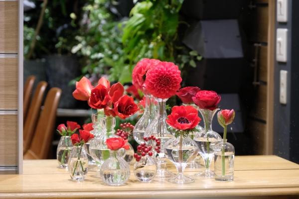 迎春の飾りにおすすめの花と花瓶