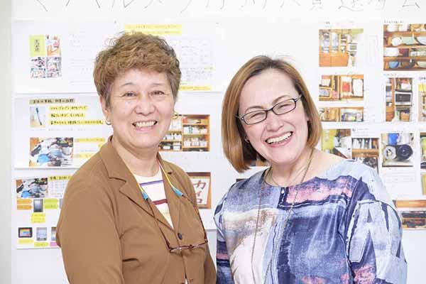生活研究家・消費生活アドバイザーの阿部絢子さんと、住まい方アドバイザーの近藤典子さん