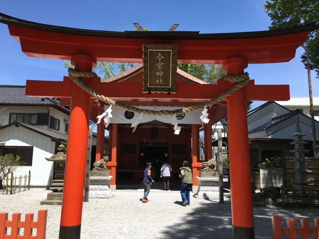今宮神社の鳥居