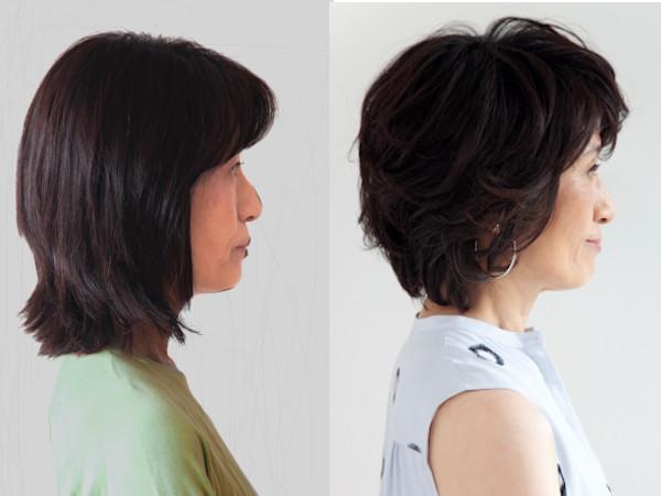 イメチェンアフター写真(サイド):サイド&トップの髪もボリュームアップして華やかに