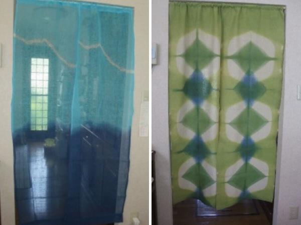 キッチンの衣替え。季節を感じる手作り暖簾を楽しむ