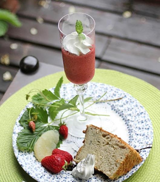 イチゴのジュレの楽しみ方