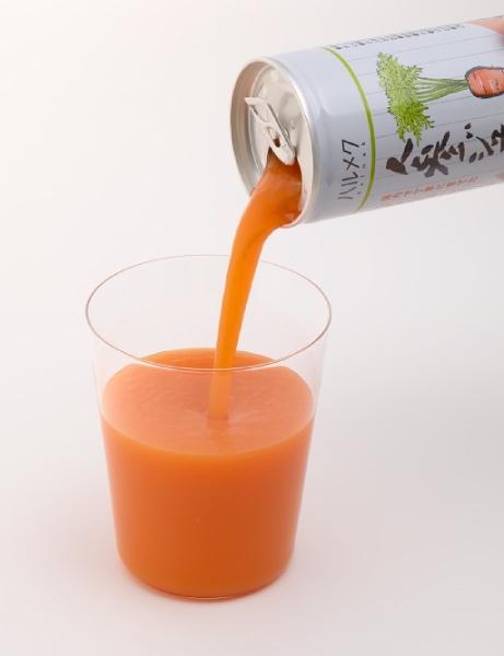 ビタミン・栄養が取れる野菜ジュースも