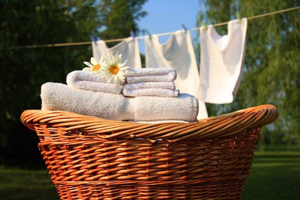 キレイに洗濯するための方法