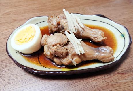 パッククッキングレシピ5:手羽元の甘辛煮