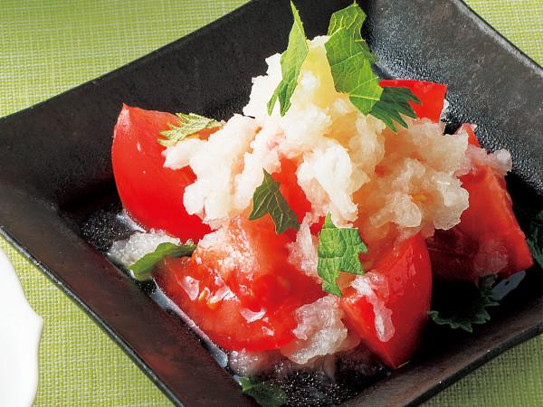 トマトのおろし酢