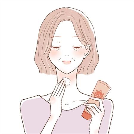 首のシワを予防・改善する方法