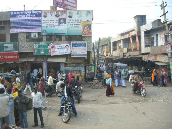 ジャイプール市内風景