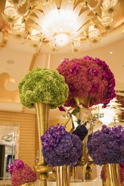 花があふれる宮殿をイメージしたホテル「ウィン・パレス」