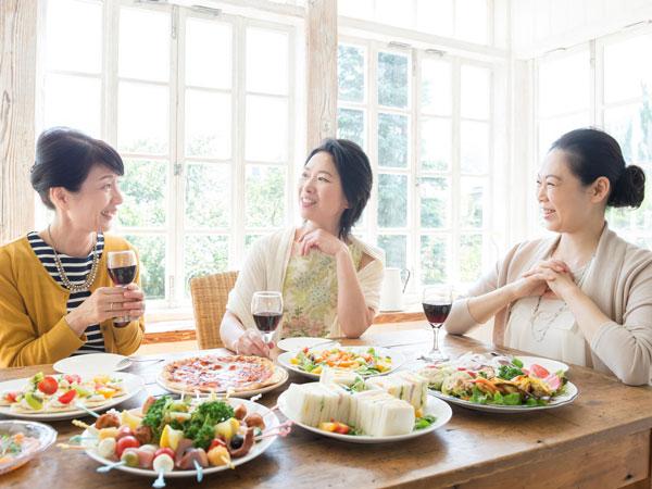 ハレの日は我慢せずに思いっきり食事を楽しむべし!