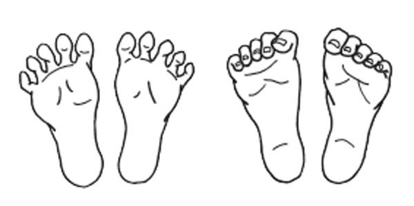 足のむくみをとる体操4:足指グーパー体操
