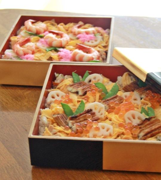 おひな祭りには「ちらし寿司」も