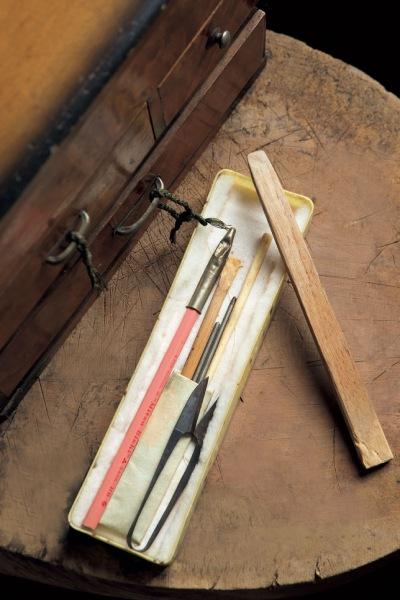 久子さんの道具
