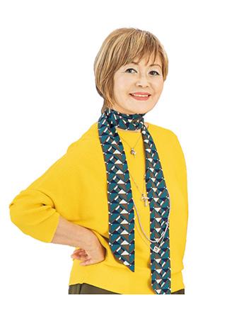 的確なアドバイスをしてくれる、ファッションデザイナーの横森美奈子さん