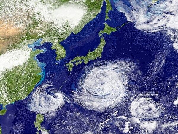 きっかけは秋の大型台風