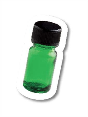 ドロッパー付き精油瓶に原液を入れる、ポケットミント