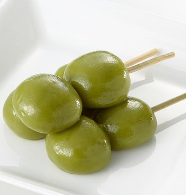 おうち花見おすすめレシピ3:抹茶だんご